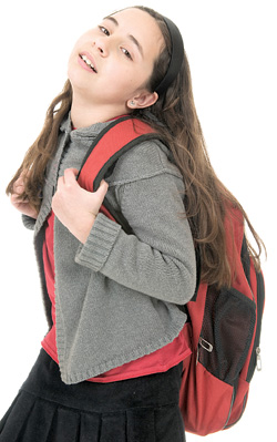 Backpacks and injury