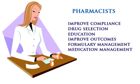 Pharmacists and pharmaceutical sales