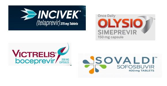 New Hepatitis C Drugs. Incivek, Victrlis, Olysio, Sovaldi,