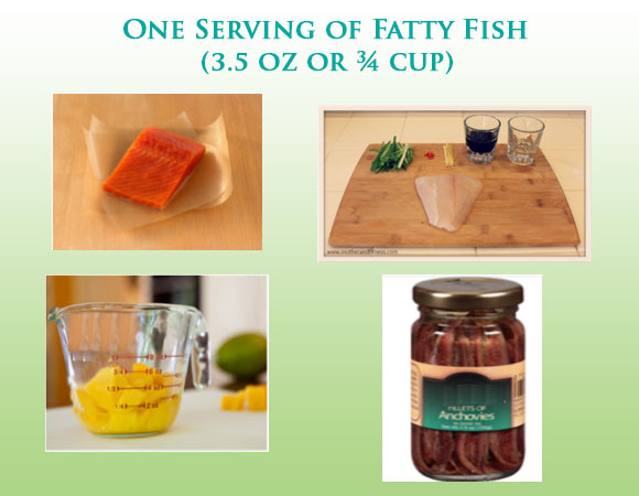 Fish oils and omega-3 fatty acid daily servings